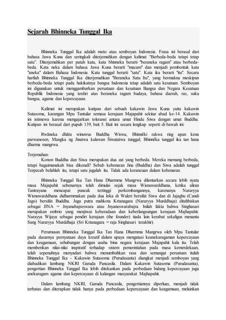 Kalimat Bhinneka Tunggal Ika Berasal Dari : kalimat, bhinneka, tunggal, berasal, Sejarah, Bhinneka, Tunggal