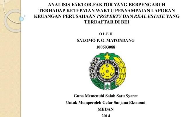Judul Skripsi Akuntansi Laporan Keuangan Contoh Ria Resep Kuini