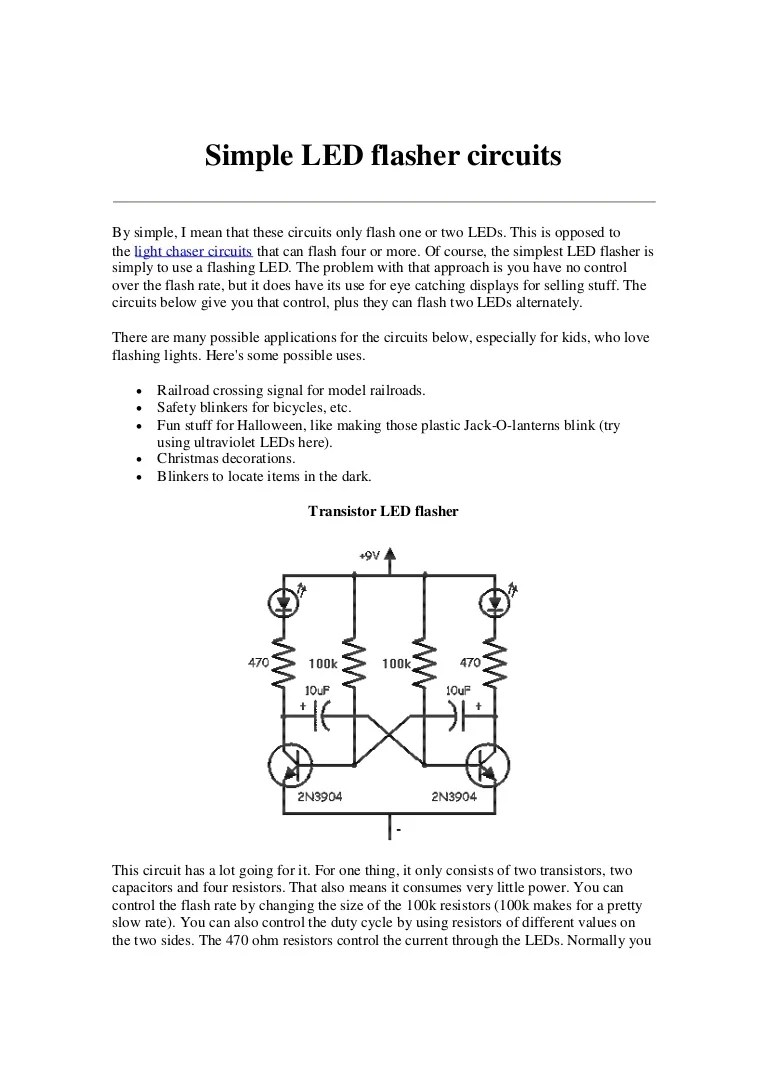 simpleledflashercircuits 131108101749 phpapp02 thumbnail 4 jpg cb 1383905919 [ 768 x 1087 Pixel ]