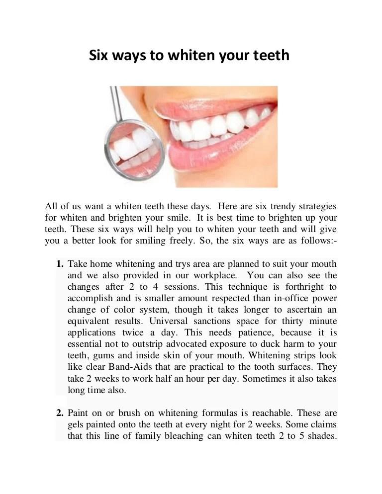 How To Paint Teeth : paint, teeth, Whiten, Teeth