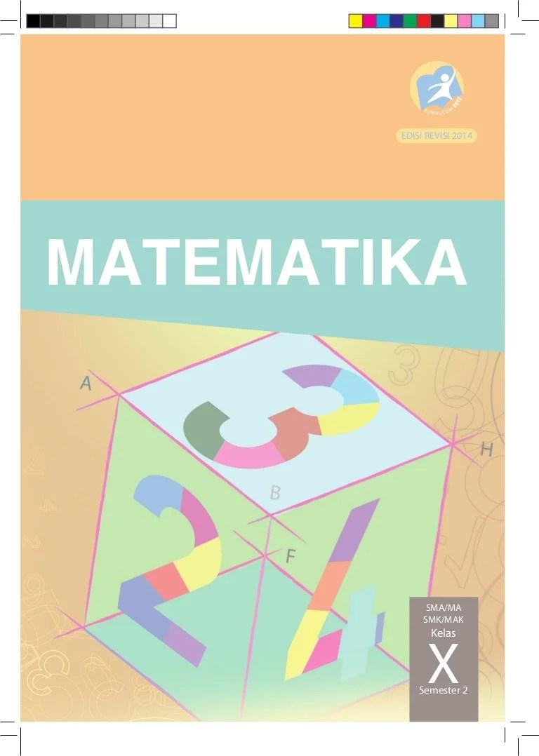 Matematika Peminatan Kelas 10 Semester 2 : matematika, peminatan, kelas, semester, Matematika, Kelas, Semester, Kurikulum