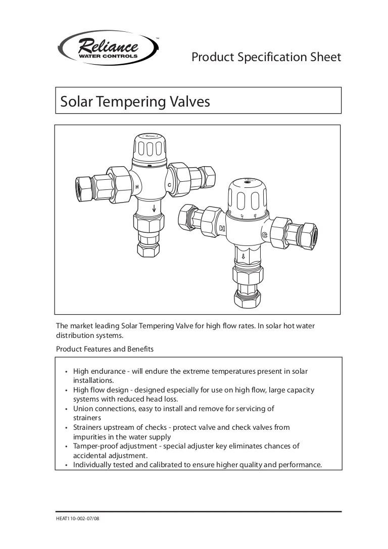 medium resolution of mixing valve diagram