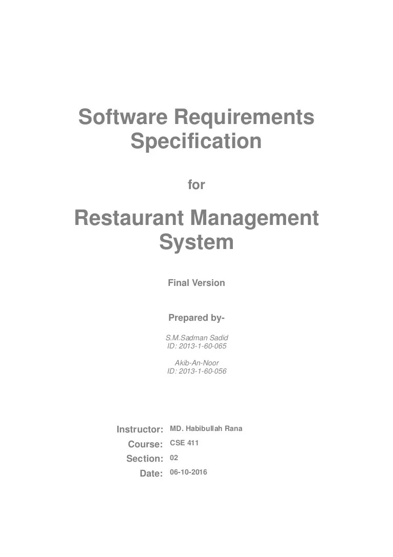 small resolution of catering software diagram