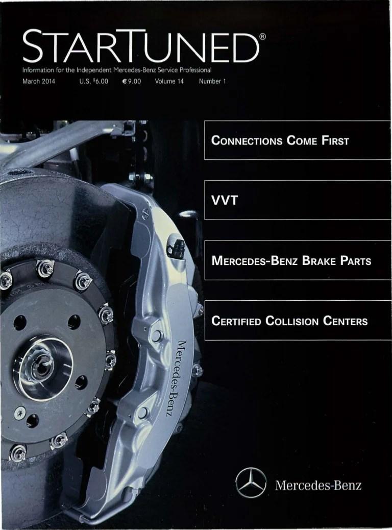 startuned magazine march 2014 mercedes benz brakes diagram  [ 768 x 1038 Pixel ]