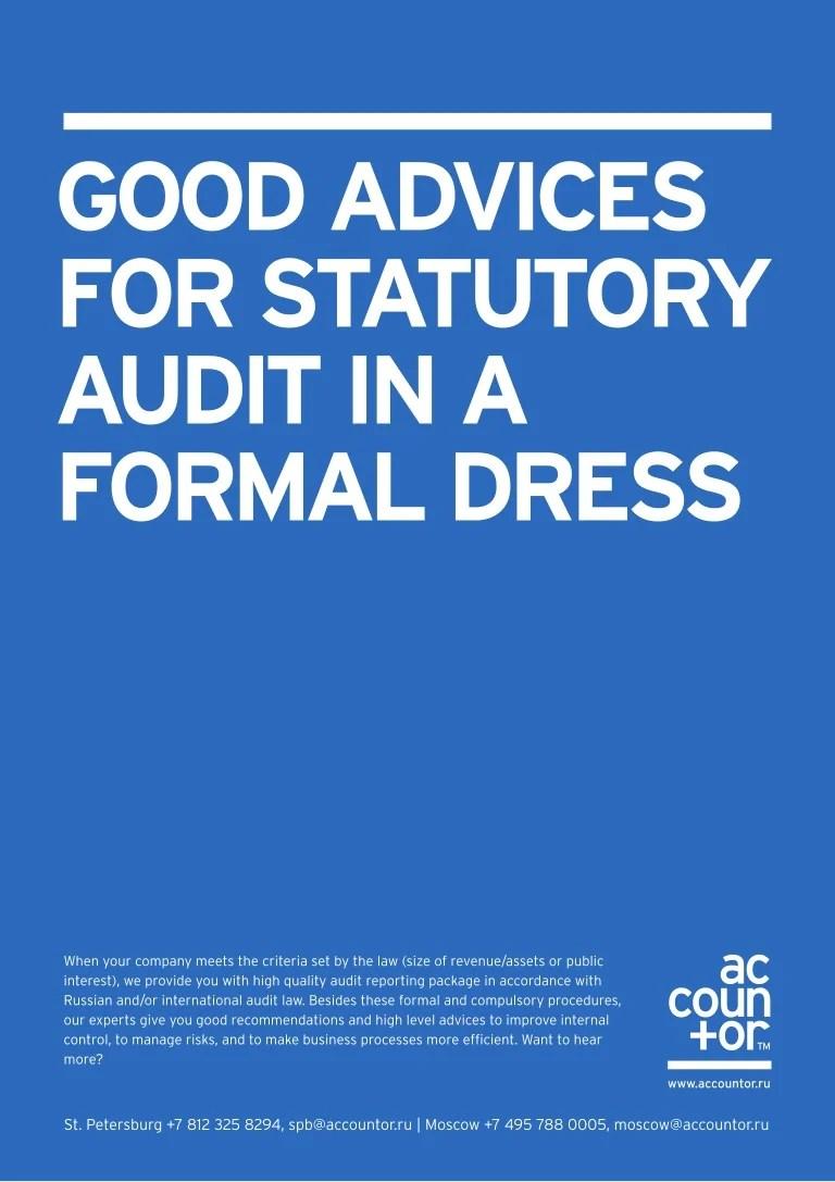 Statutory audit in Russia