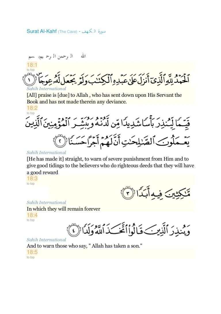 Surat Al Kahfi Ayat 29 : surat, kahfi, Surah, Kahfi