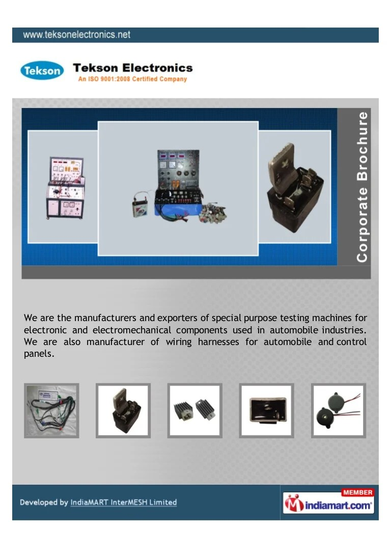 medium resolution of wiring harnes company in pune