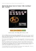 The Hunger Games Mockingjay Part 2 On Google Drive