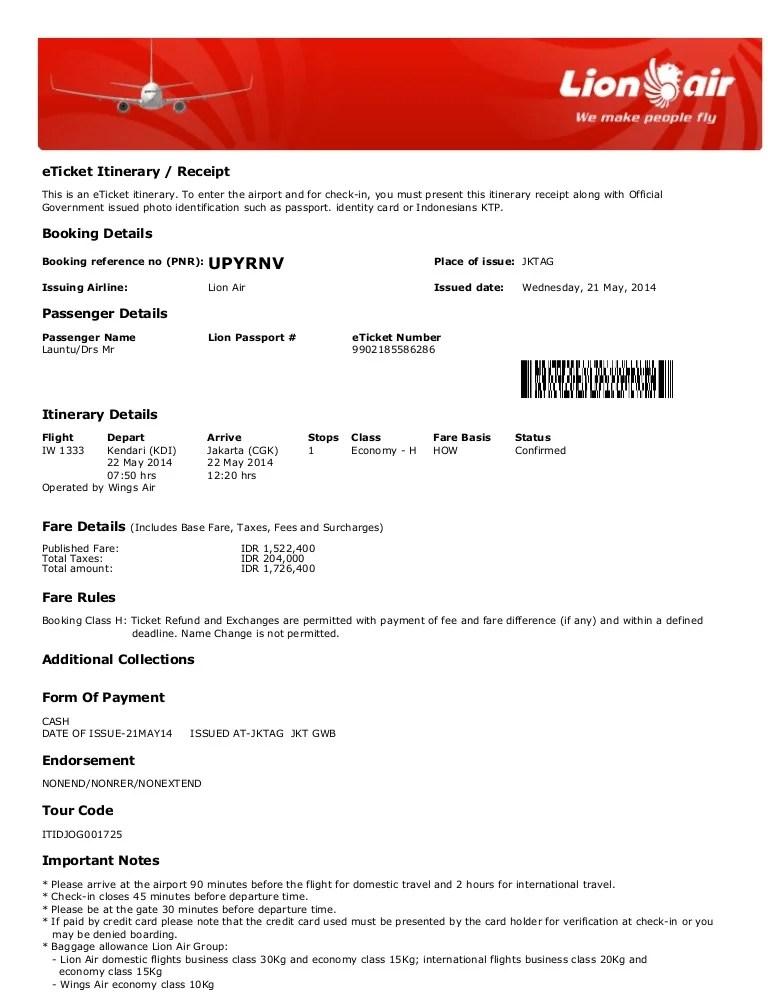 Cek Kode Booking Lion : booking, Tiket