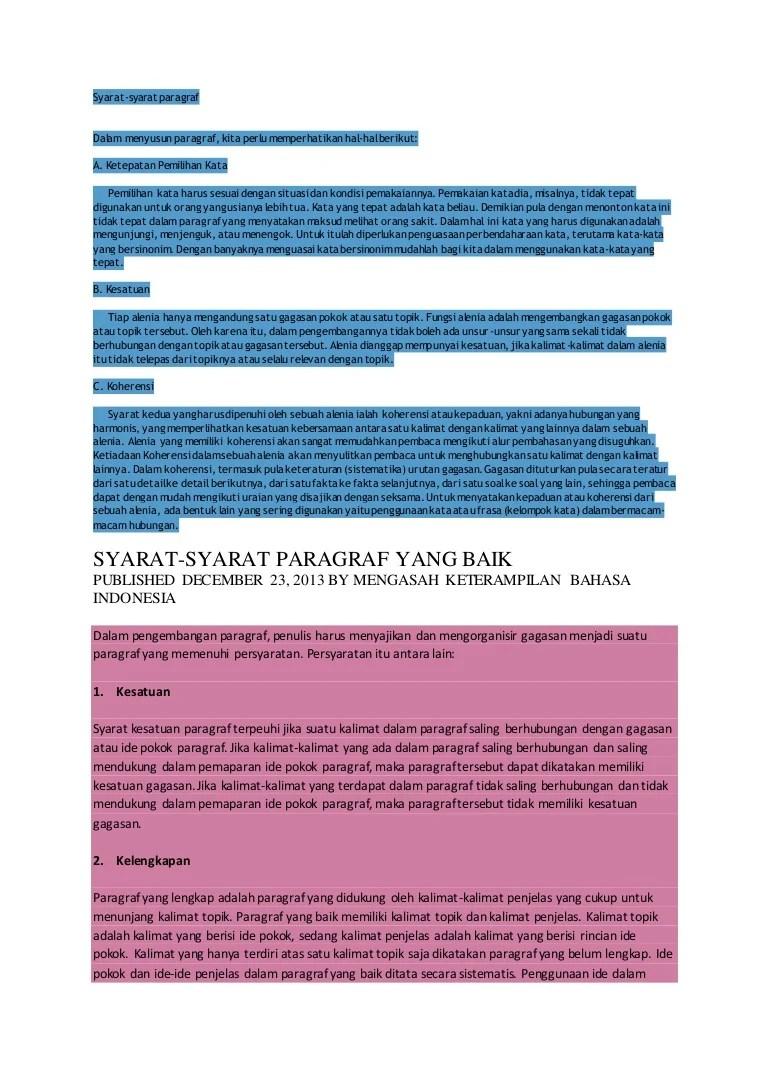 Contoh Paragraf Paralelisme : contoh, paragraf, paralelisme, Tinpus