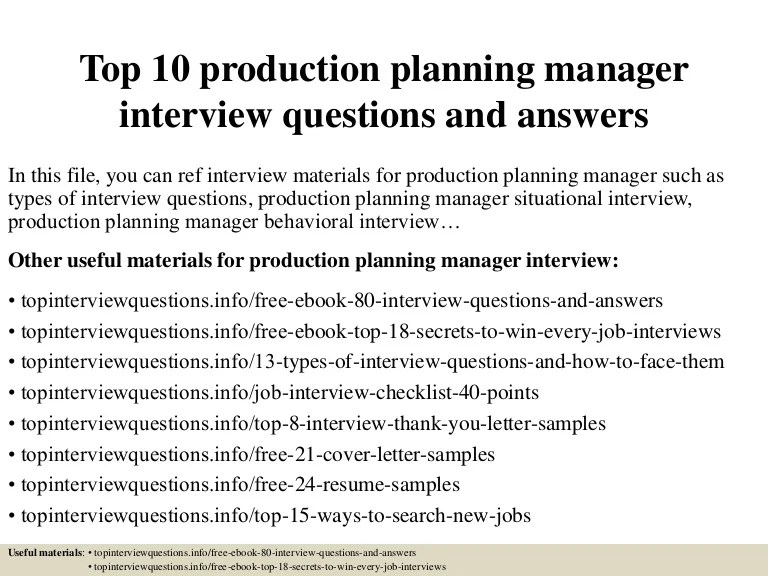 product manager interview questions and answers