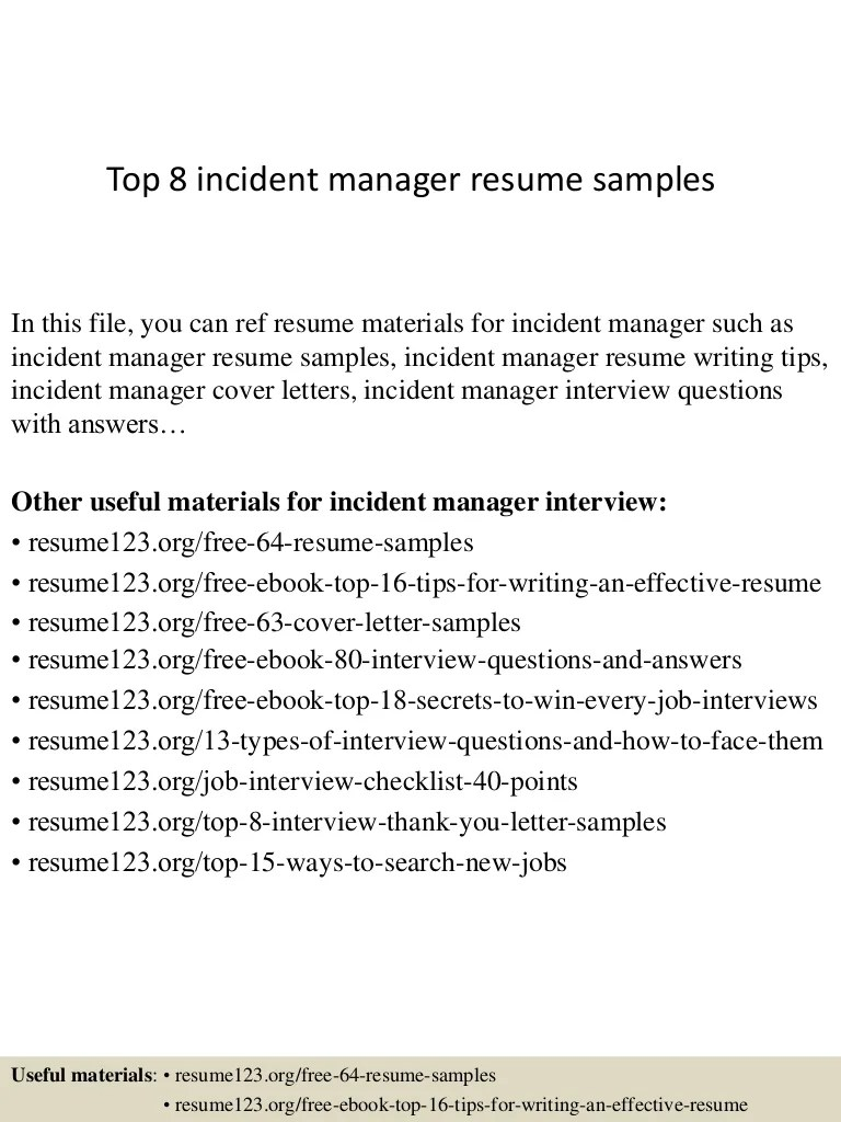 Top8Incidentmanagerresumesamples-150410094417-Conversion-Gate01-Thumbnail-4.jpg?cb=1428677107