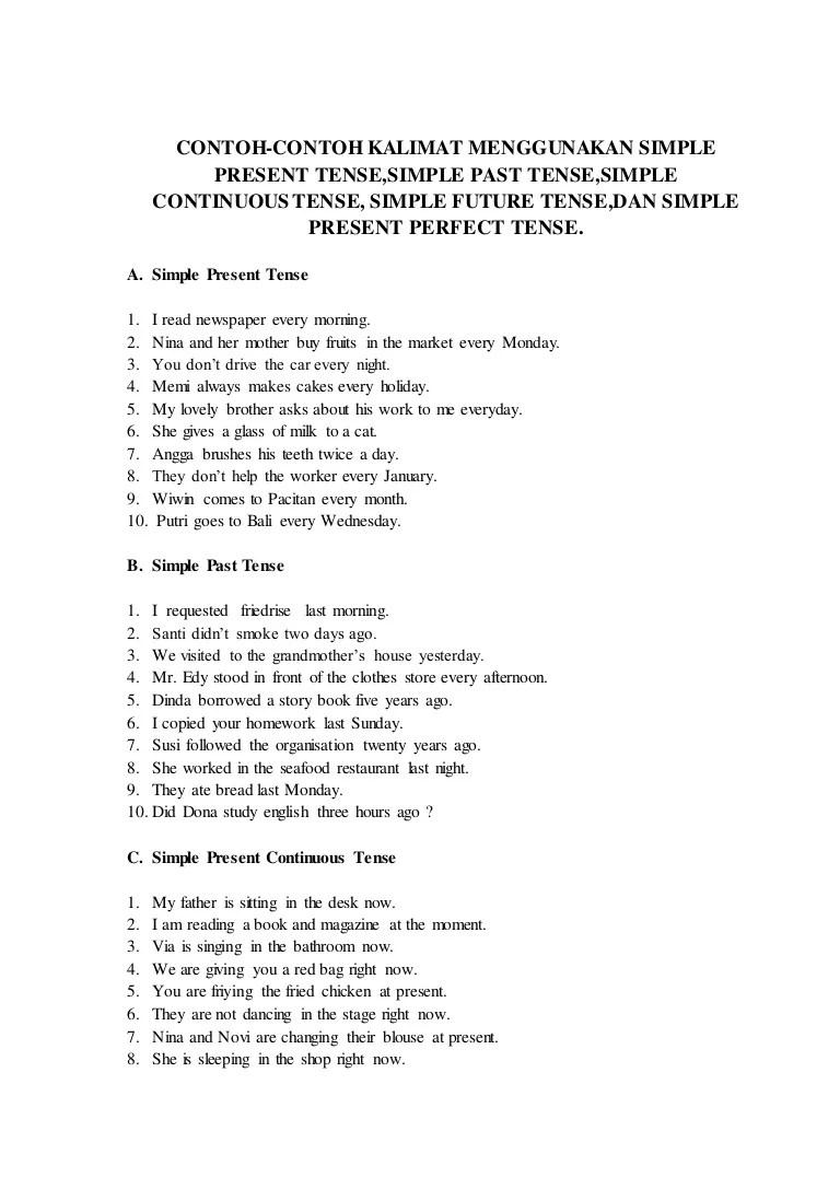 Contoh Kalimat Simple Future Tense : contoh, kalimat, simple, future, tense, English, Grammar