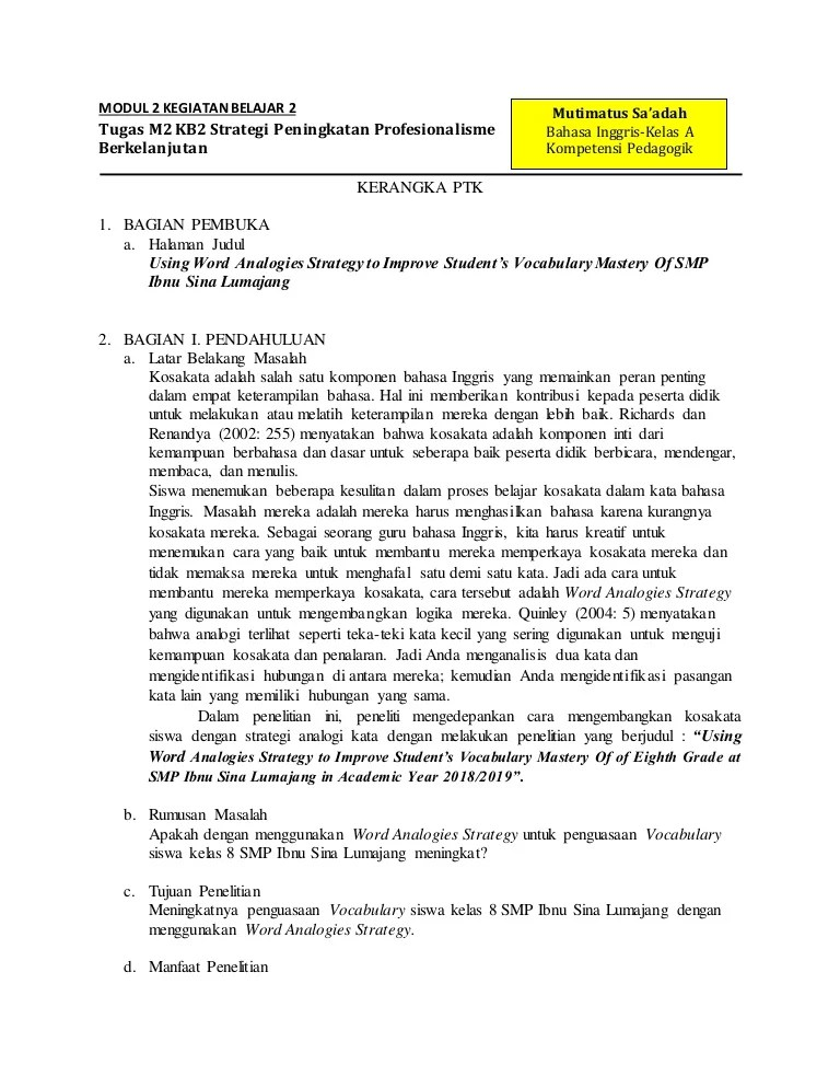 Tugas M4 Kb2 : tugas, Tugas, Strategi, Peningkatan, Profesionalisme, Berkelanjutan