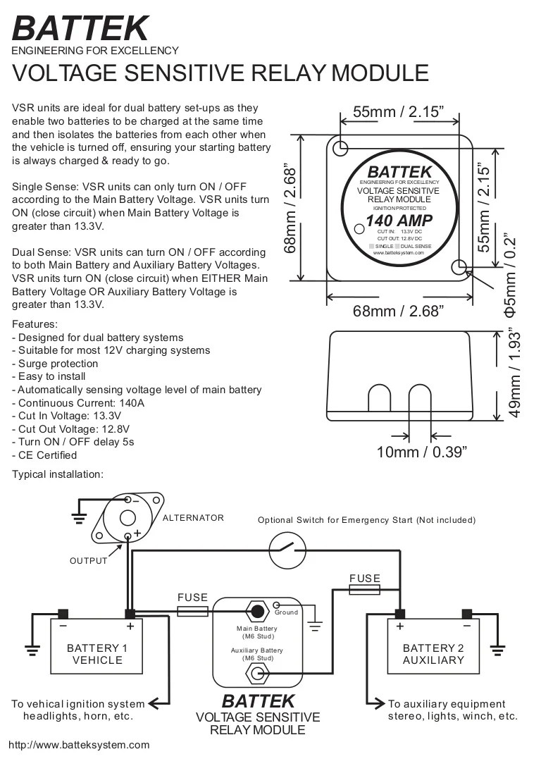 hight resolution of battek voltage sensitive relay module datasheet bep digital voltage sensitive relay wiring diagram voltage sensitive relay wiring