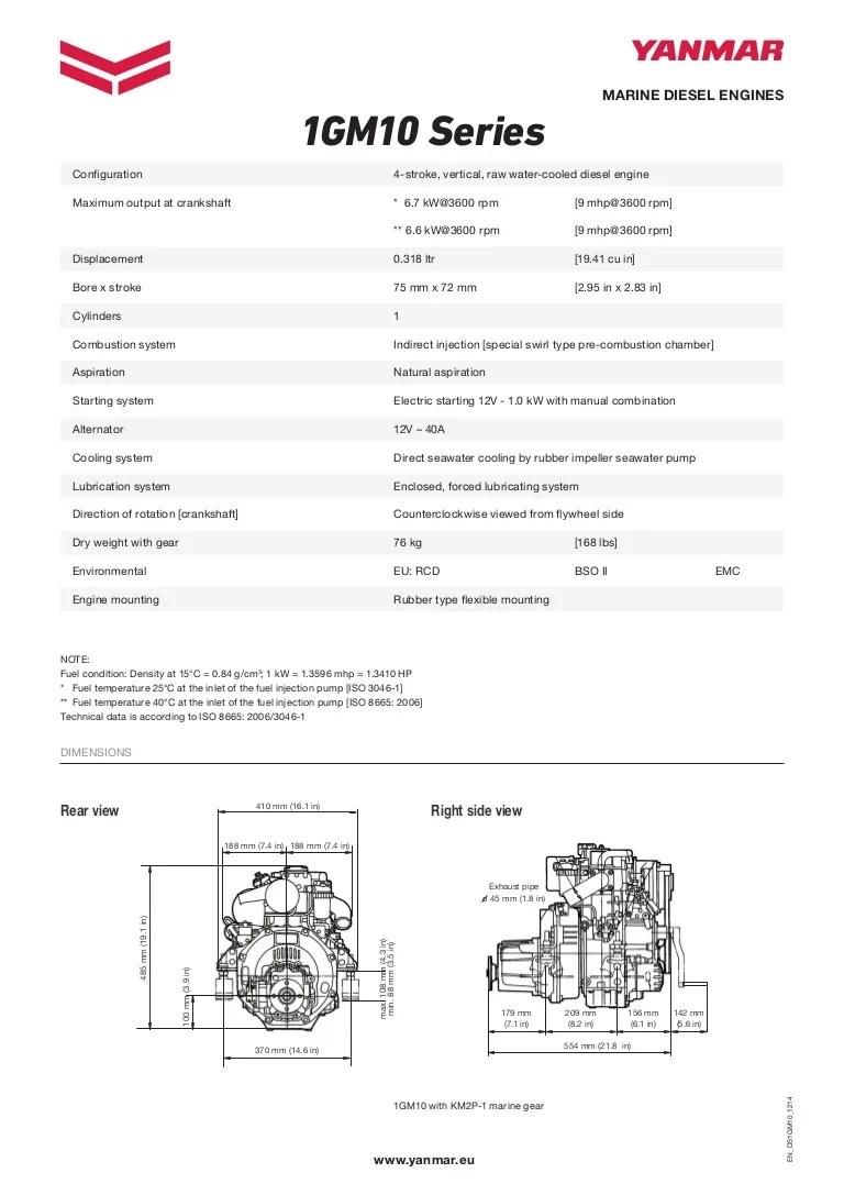 medium resolution of yanmar 1 gm wiring diagram