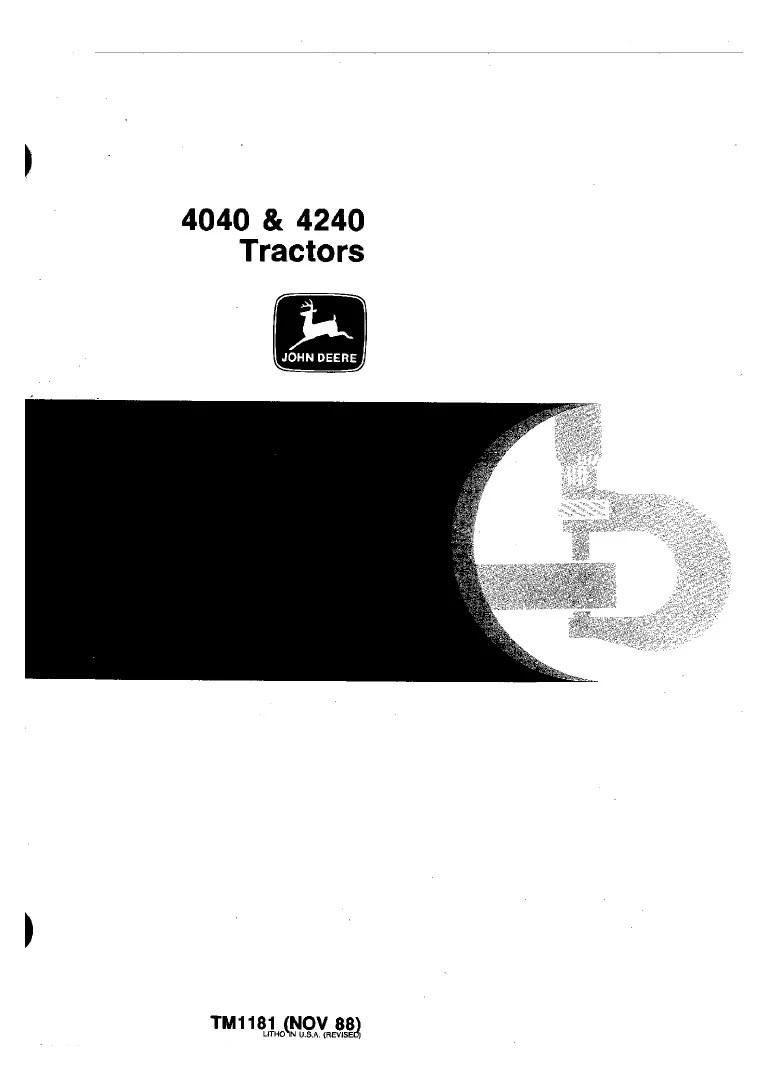 medium resolution of john deere 4240 wiring diagram