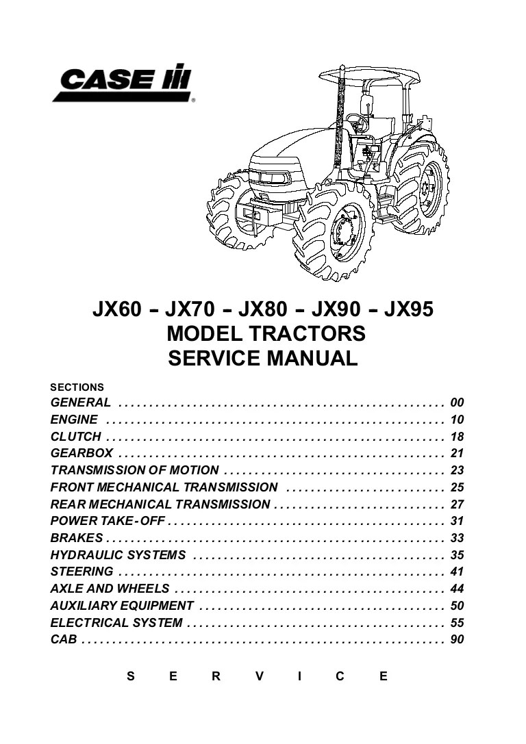hight resolution of case ih jx70 tractor service repair manualfor a case ih 275 starter wiring diagram 9