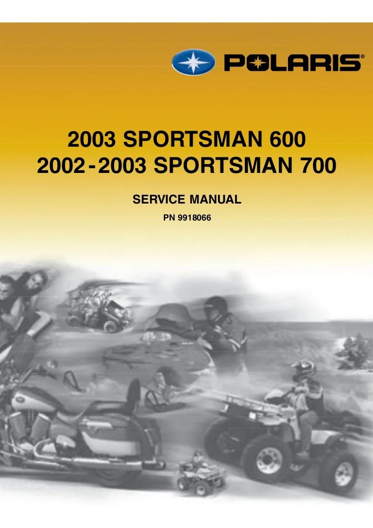 2004 polari sportsman 700 manual [ 768 x 1087 Pixel ]