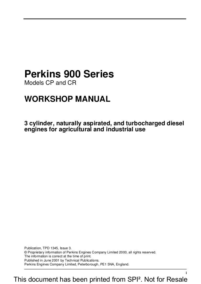 perkin diesel wiring diagram [ 768 x 1086 Pixel ]