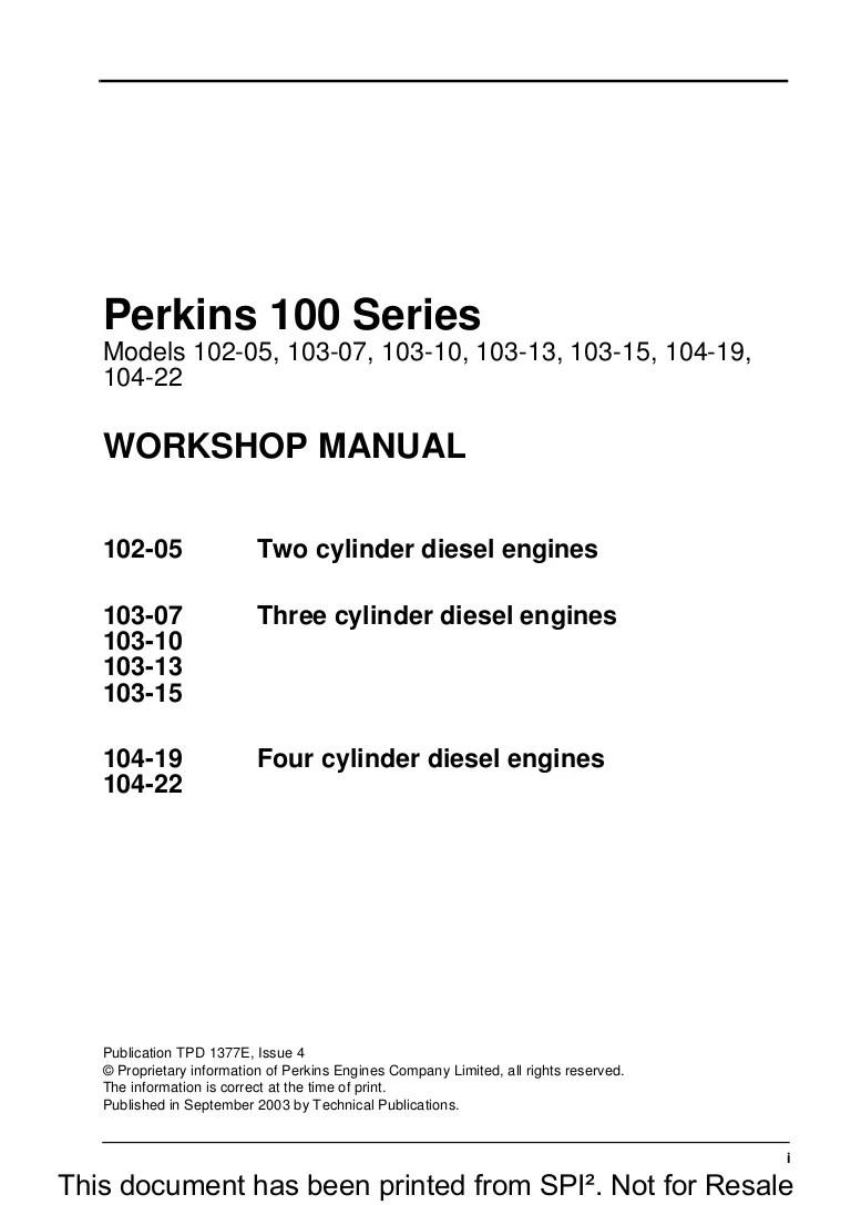 perkin diesel wiring diagram [ 768 x 1087 Pixel ]