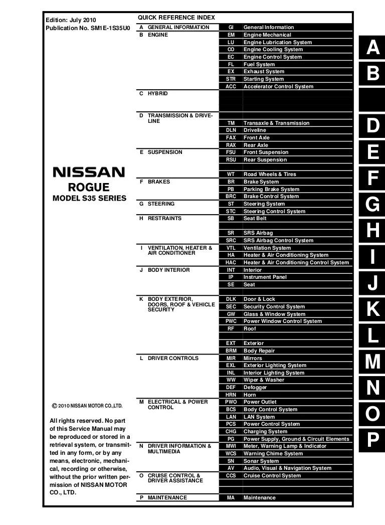 2011 nissan rogue fuel filter [ 768 x 1047 Pixel ]