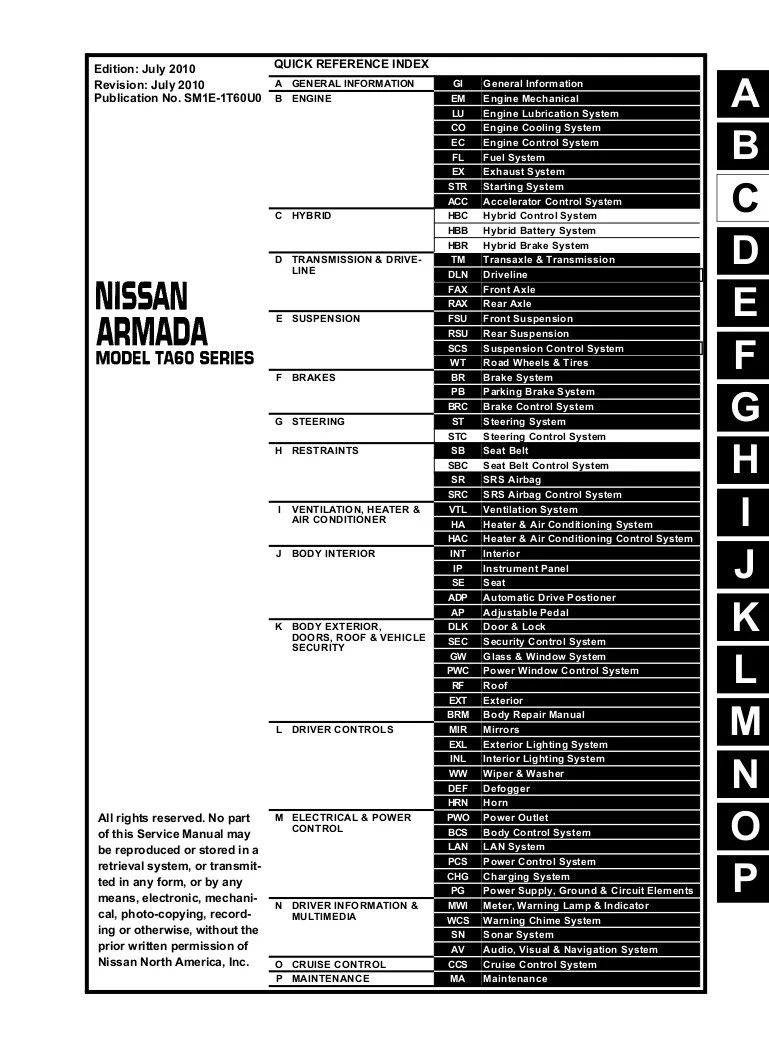 nissan armada exhaust diagram [ 769 x 1047 Pixel ]