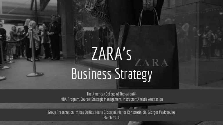 ZARA 's Business Strategy