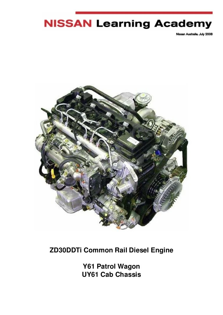 Manual engine ZD30 nissan