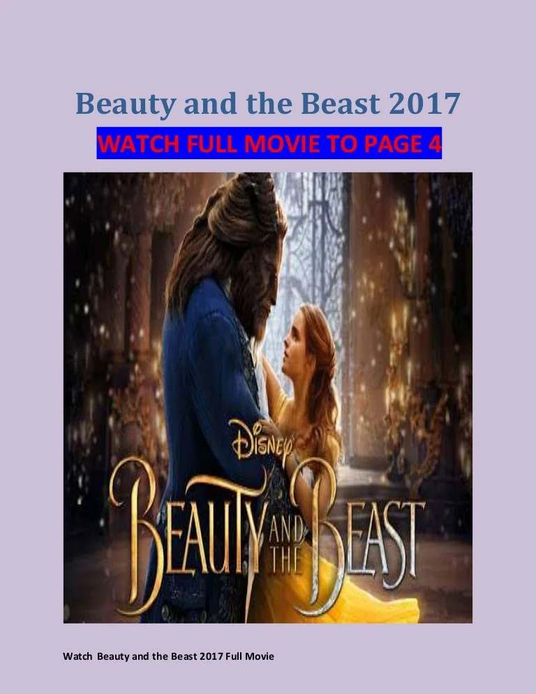 Streaming Beauty And The Beast 2017 : streaming, beauty, beast, Watch, Beauty, Beast, (2017), Movie, Streaming