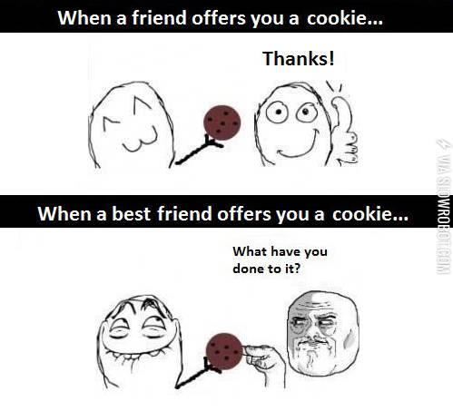 Friends vs. Best friends.