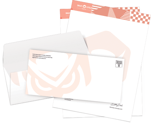 custom letterheads envelopes smart