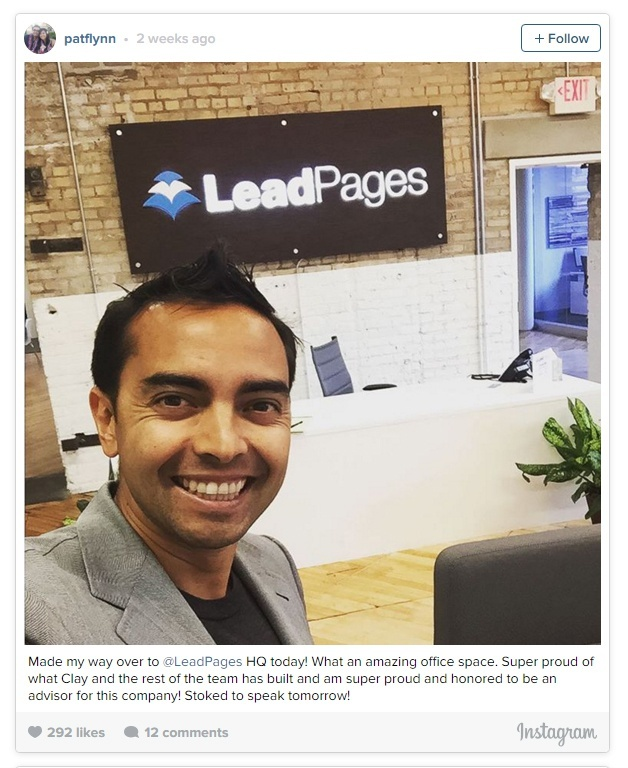 Pat at LeadPages