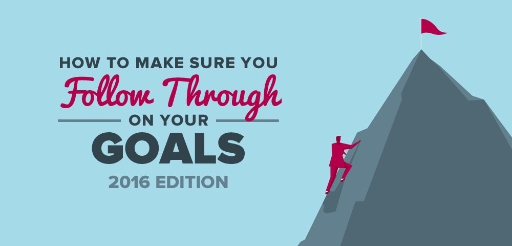 How to Make Sure You Follow Through on Your Goals
