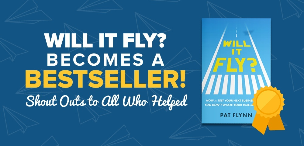Will It Fly Becomes a Bestseller