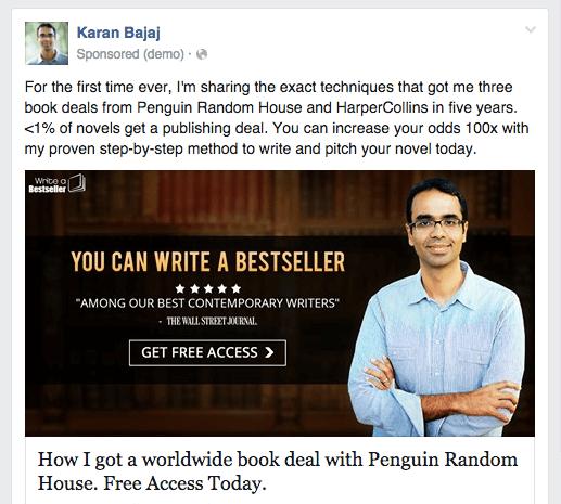 Karan Bajaj Facebook ad new