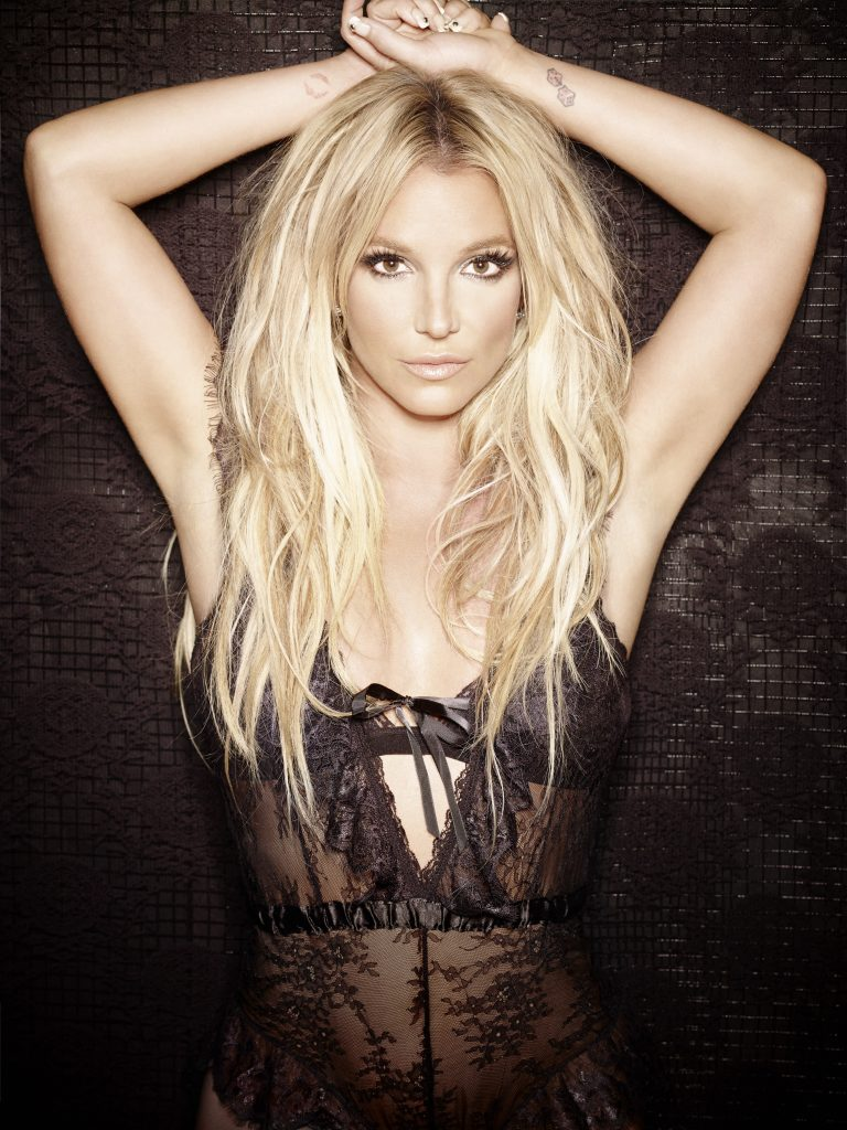 Spears poses for an RCA records promotionla image