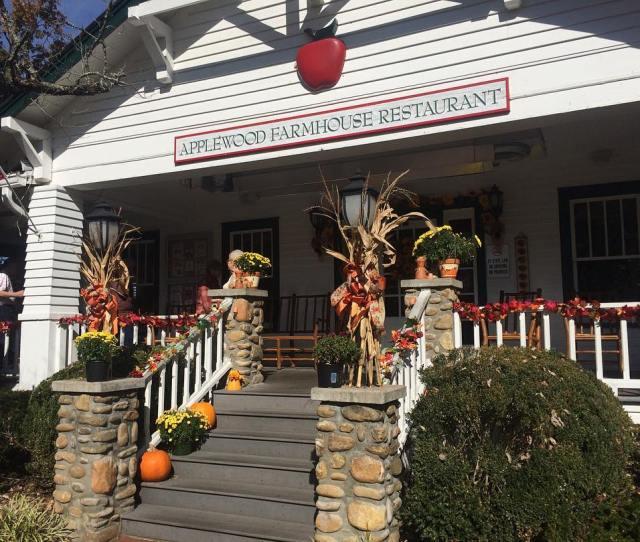 Sevierville Restaurants Applewood Farmhouse Restaurant Original Photo
