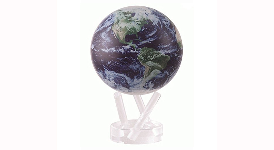"4.5"" Satellite View with Cloud Cover MOVA Globe"