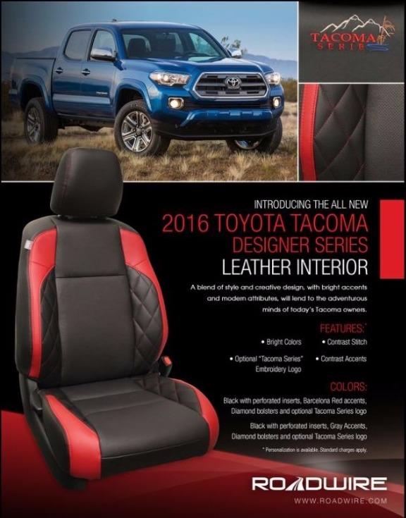 Auto Trim Restyling  2016 Toyota Tacoma Designer Series