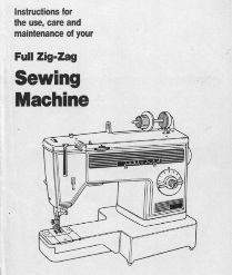 Vintage Sewing Machine PDF Manuals For Sale