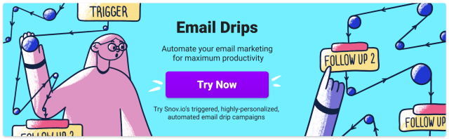 campagnes e-mail goutte à goutte