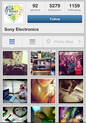 sony instagram