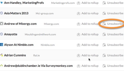 unroll me email subscription aggregator