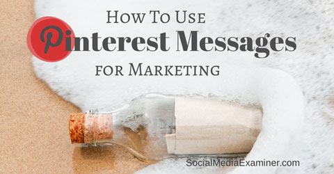 pinterest messages for marketing