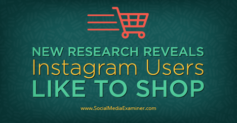 instagram research shows users are shoppers