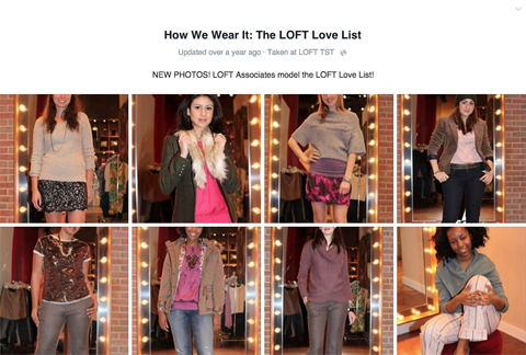 loft customer model images