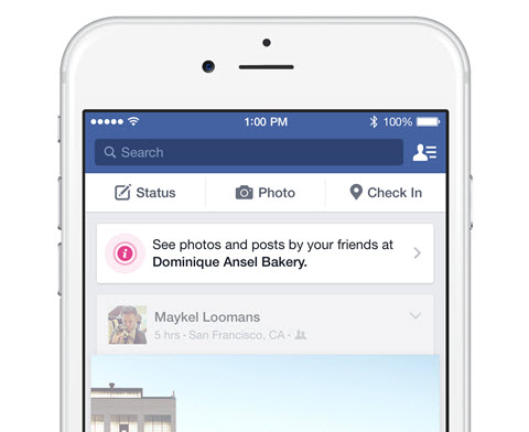 facebook beacon post