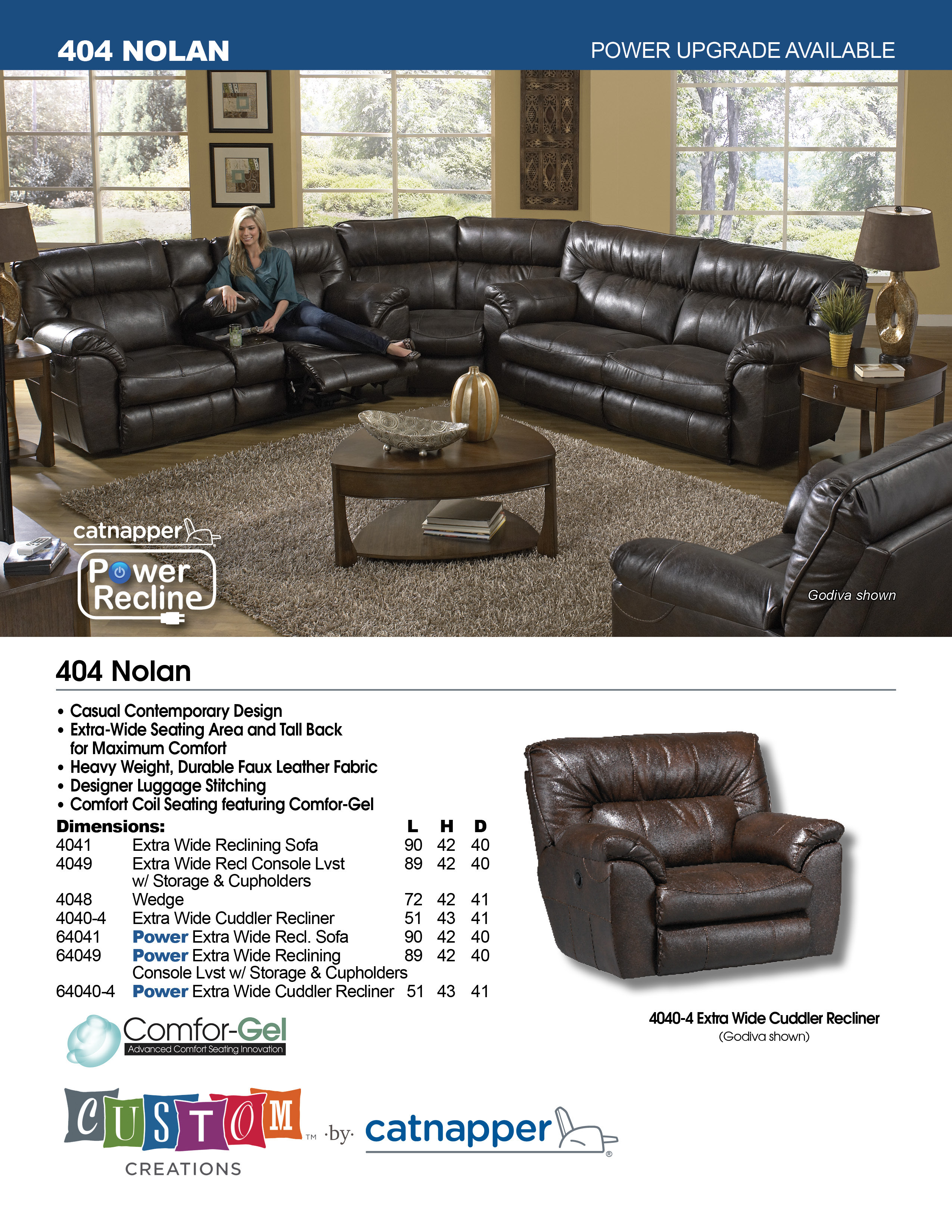 nolan reclining sectional extra wide