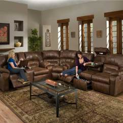 Dakota Sofa Costco Klaussner Cliffside Reviews 596 Reclining Sectional In Smokey Sofas And Sectionals